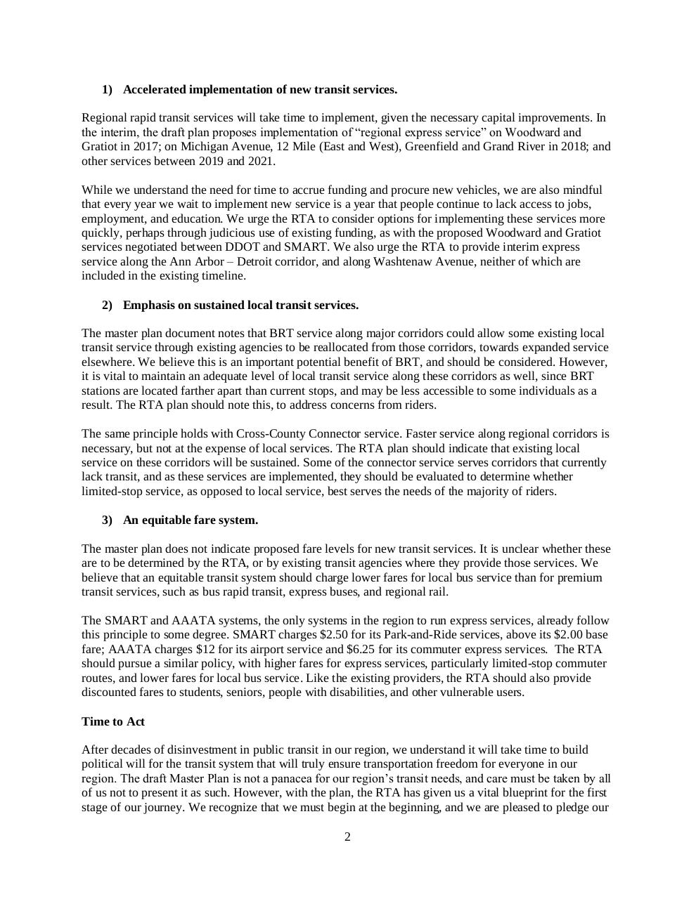 Document preview MCFR Comments on RTA Plan.pdf - page 2/3
