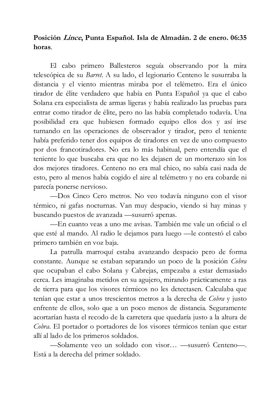 Document preview Posición Lince.pdf - page 1/4