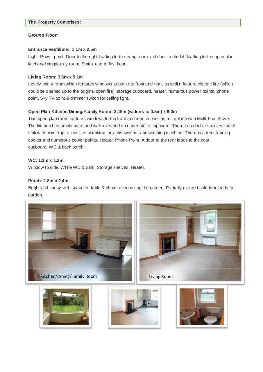 Document preview Schedule - 10 Manse Park, Brora, KW9 6PT.pdf - page 2/4