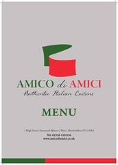 full menu amico di amici july 2016