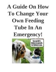 PDF Document feeding tube emergency
