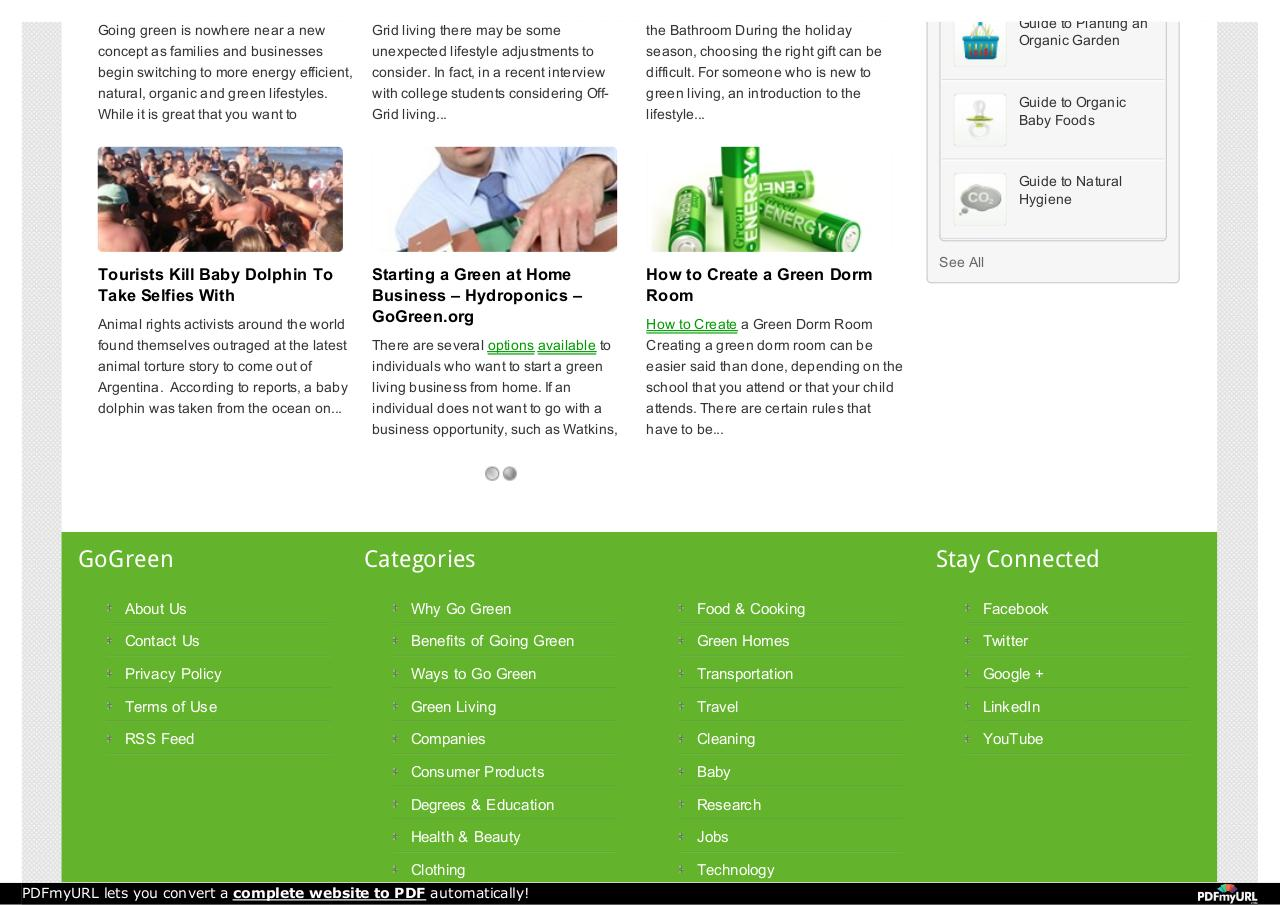 Document preview Go Green.pdf - page 3/4