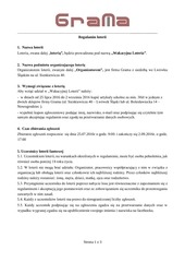 PDF Document regulamin loteria