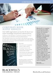 corporate book supply services