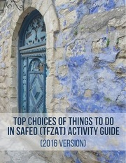 top choices of things to do in safed