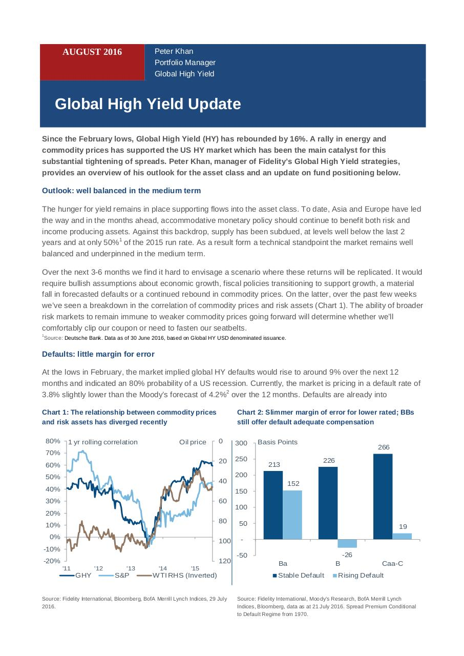 16 08 Fidelity Global HY Update.pdf - page 1/4