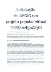 PDF Document projeto esperanca aqui