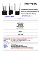 PDF Document ct 3077b uav 7 bands bulit in battery drone uav jammer