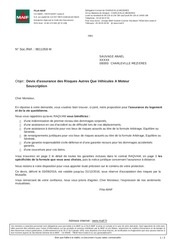 PDF Document assurnce maison pour 1