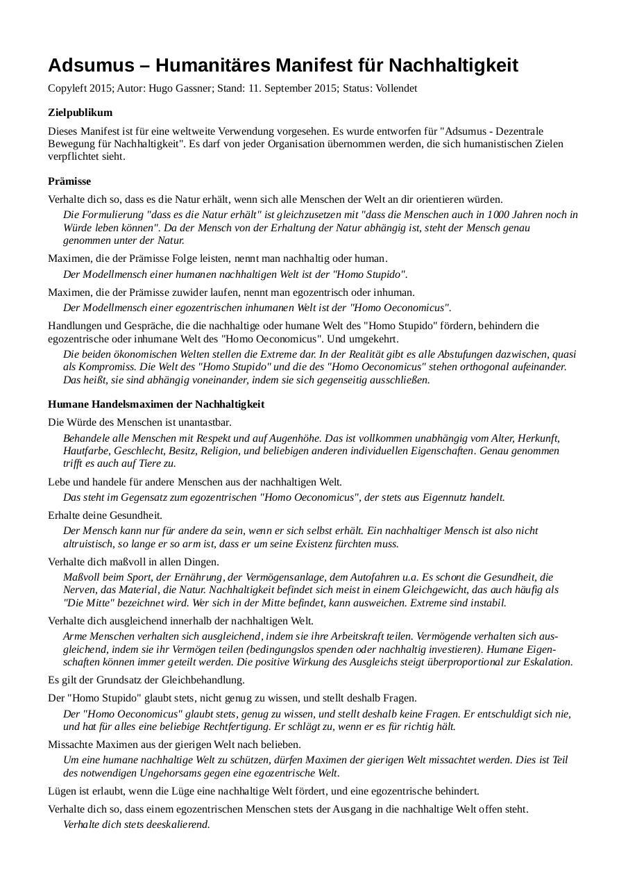 Preview of PDF document manifest4adsumus2de.pdf - Page 1/2