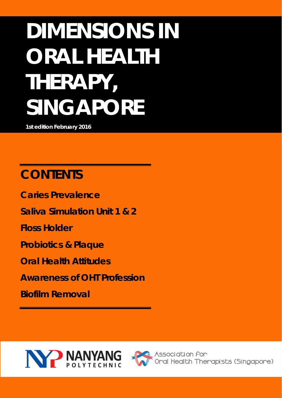 Draft_Dimensions in Oral Health Therapy(Singapore).pdf - page 1/50