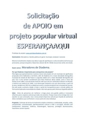 projeto esperanca aqui