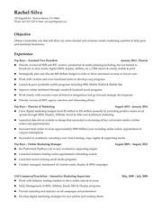 rachel silva resume july 2016