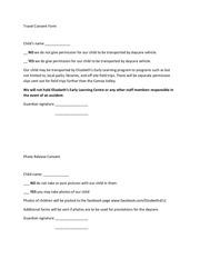PDF Document consent