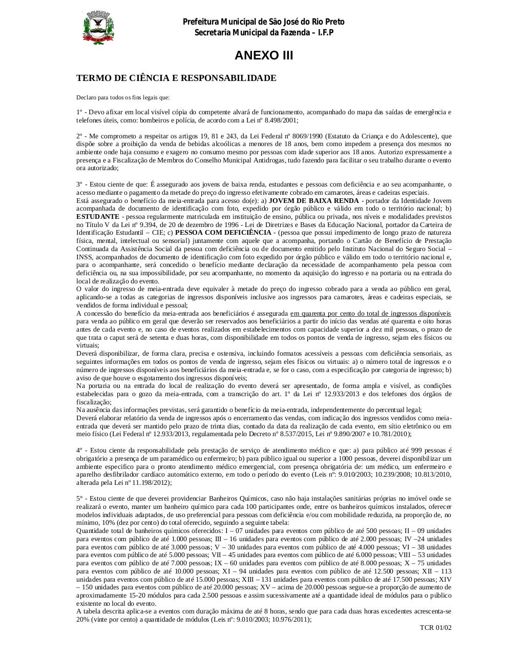 TCR - FEIRAS PARTICULARES.pdf - page 1/2