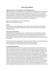 PDF Document terms