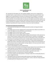 colorado end of life options act fact sheet