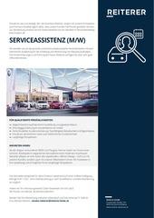 job reiterer serviceassistenz a4