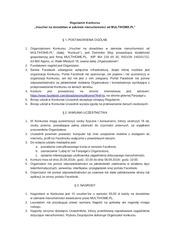 regulamin konkursu fb