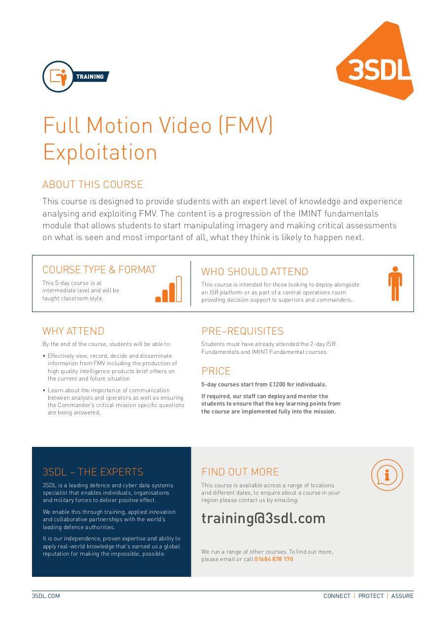 Document preview Full Motion Video (FMV) Exploitation .pdf - page 1/1