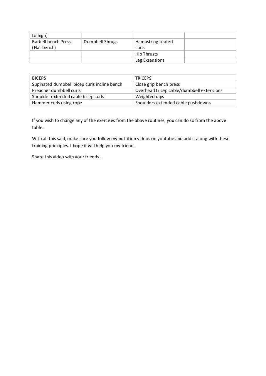 intermediate workout by Admin - PDF Archive