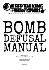 PDF Document bomb defusal manual en espanol