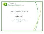 doubleclick certification programs