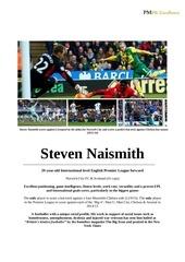 9 8 16 steven naismith cv