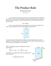 the product rule 2