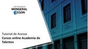 PDF Document tutorial acesso aos cursos academia de talentos