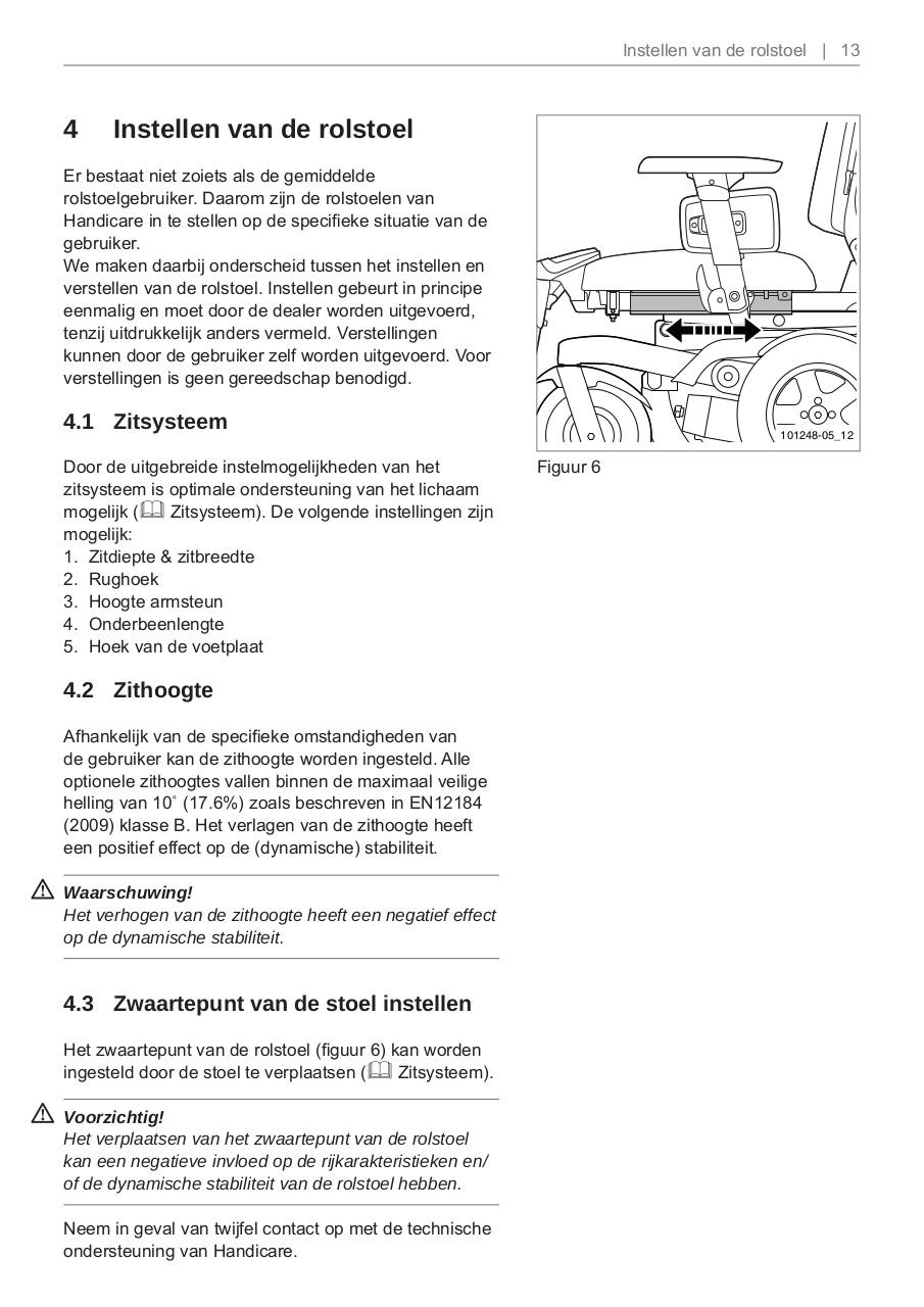 Document preview rolstoel_instellen.pdf - page 1/2