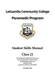 skills manual medic 21