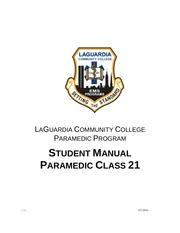 student manual medic 21