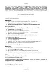PDF Document frontend developer