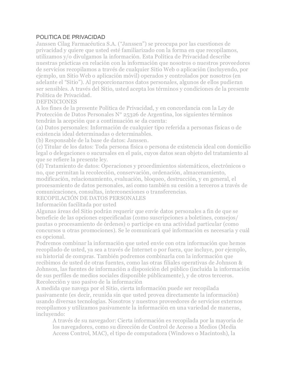 PrivacyPolicyARG.pdf - page 1/7