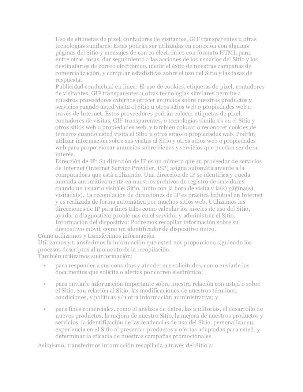 PrivacyPolicyARG.pdf - page 3/7