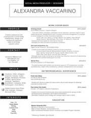 PDF Document alexvaccarino resume bw