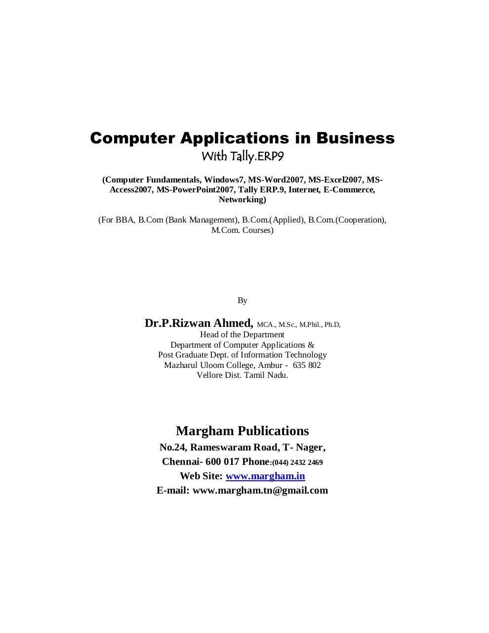 Computer Application in Business.pdf - page 1/14
