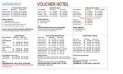 voucher hotel up date juni 2016