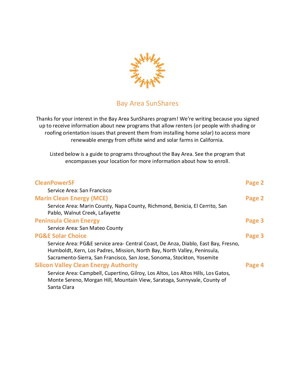 Bay Area SunShares.pdf - page 1/4