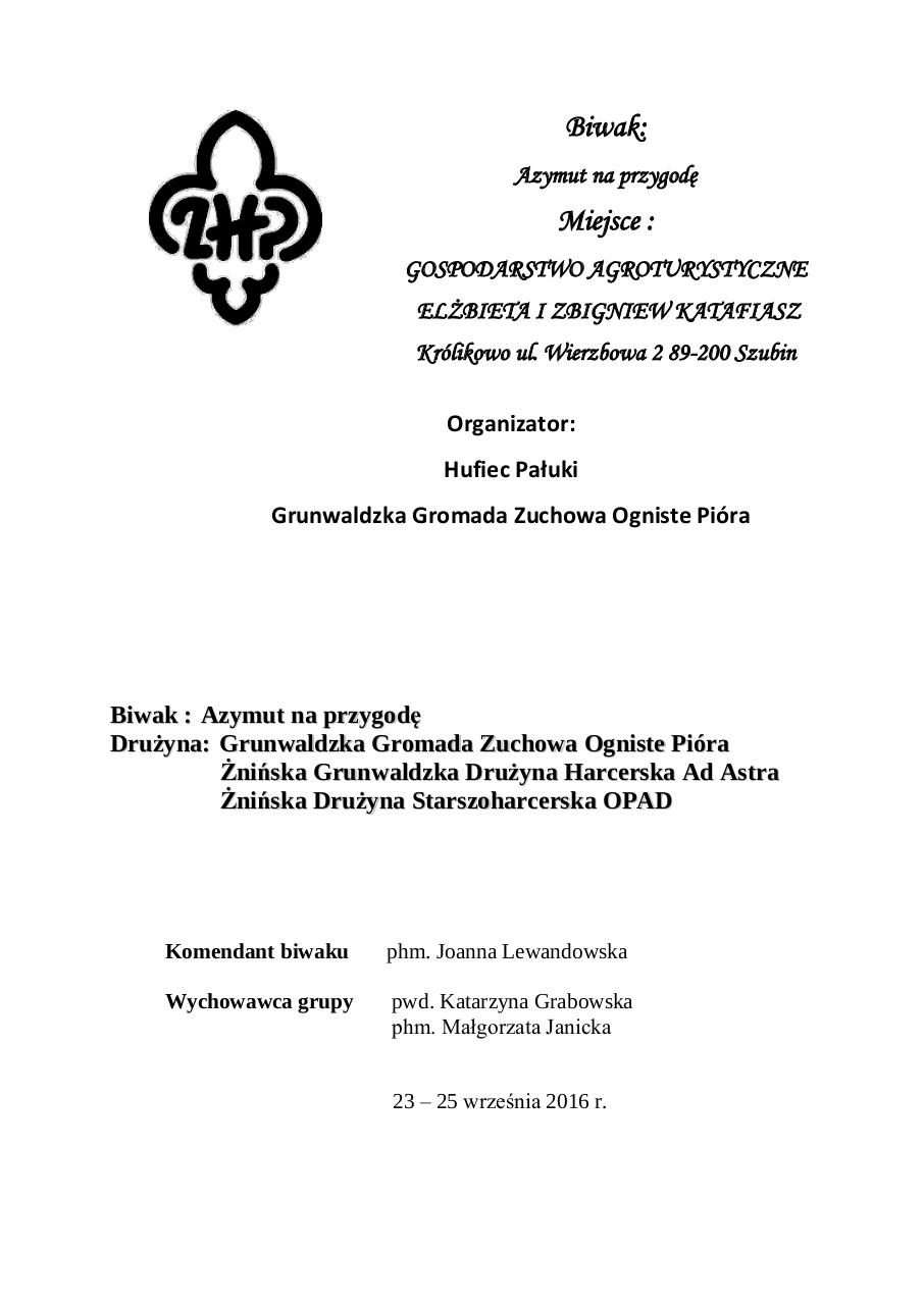 Document preview Biwak-Azymut_na_przygode.PDF - page 1/5