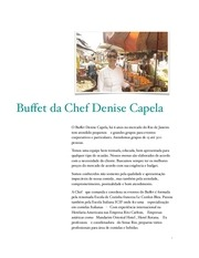 buffet chef denise capela