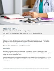 medicare part d credible coverage notice