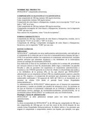 prospecto intelence uruguay