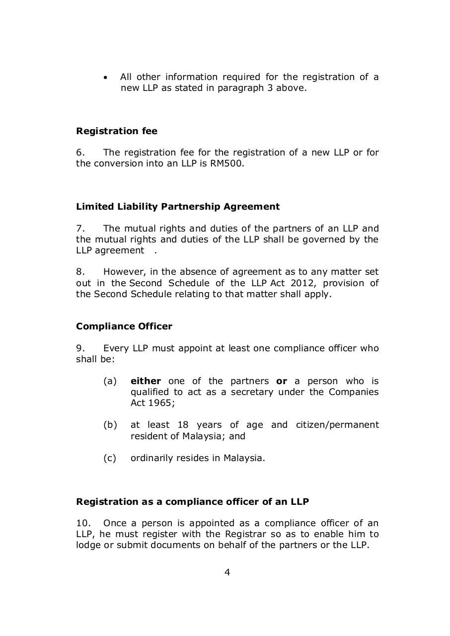 1.1.11 General Guidelines on registration LLP.pdf - page 4/7