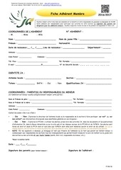 PDF Document fiche adherent 2016 2017 1