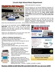PDF Document flyer for blog