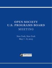 usp may 2015 board book
