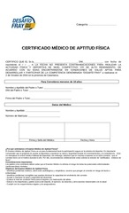 PDF Document certificado medico desafio fray