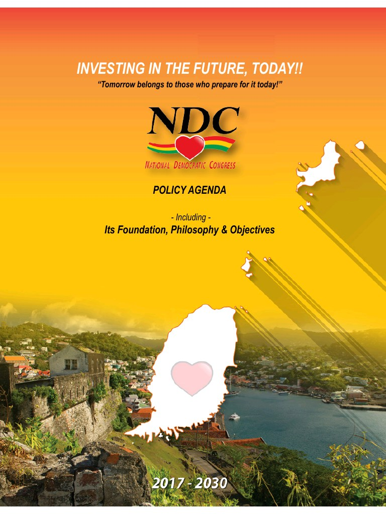 NDC 13 Year Policy agenda for the period 2017 - 2030.pdf - page 1/34